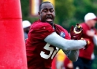 Haïti-USA-NFL: Déchirure au tendon d'Achille de l'Haïtien Junior Galette des Washington Redskins